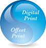 Digital Print, Offset Print