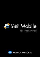 PageScope Mobile for iPhone/iPad