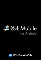 PageScope Mobile for Android