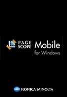 PageScope Mobile for Windows