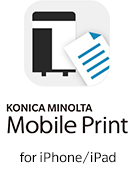 Konica Minolta Mobile Print for iPhone/iPad
