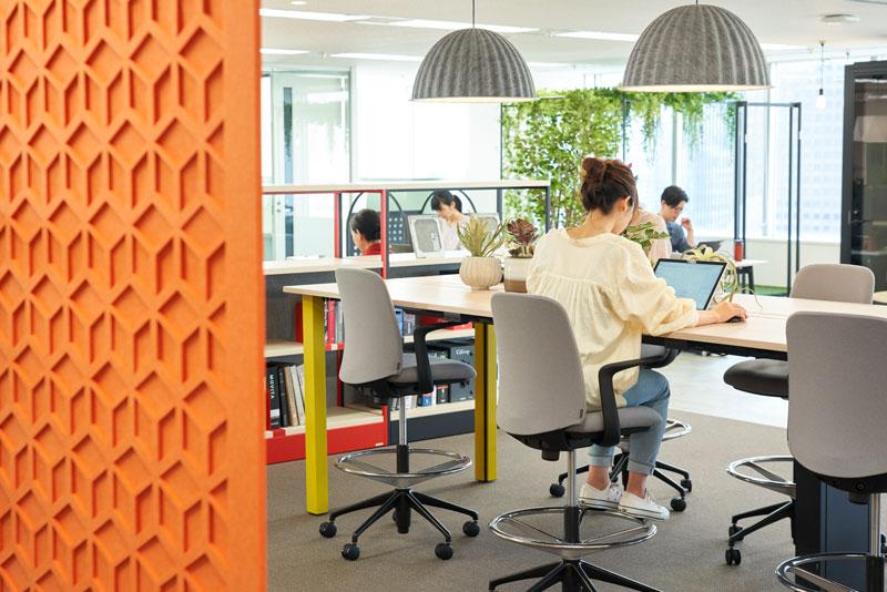 コニカミノルタジャパンの新しいオフィス